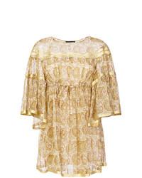 Twin-Set 34 Sleeve Empire Baby Doll Dress