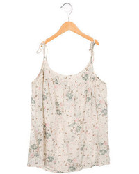 Bonpoint Girls Printed Scoop Neck Top