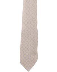 Hermes Herms Silk Rope Print Tie