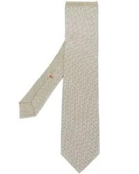 Ulturale Zig Zag Print Tie