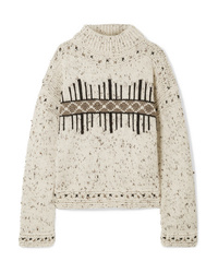 Isabel Marant Elwyn Wool Blend Sweater