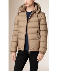 Beige Puffer Coat