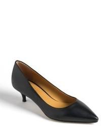 c323e4532c3 ... Nine West Illumie Leather Kitten Heels
