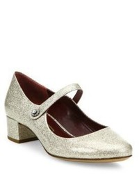 Marc Jacobs Lexi Glitter Mary Jane Pumps
