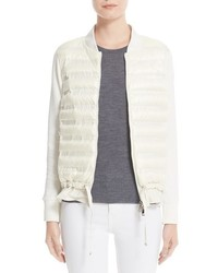 Maglia quilted down front tricot bomber medium 952050