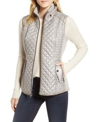 Gallery Quilted Knit Vest