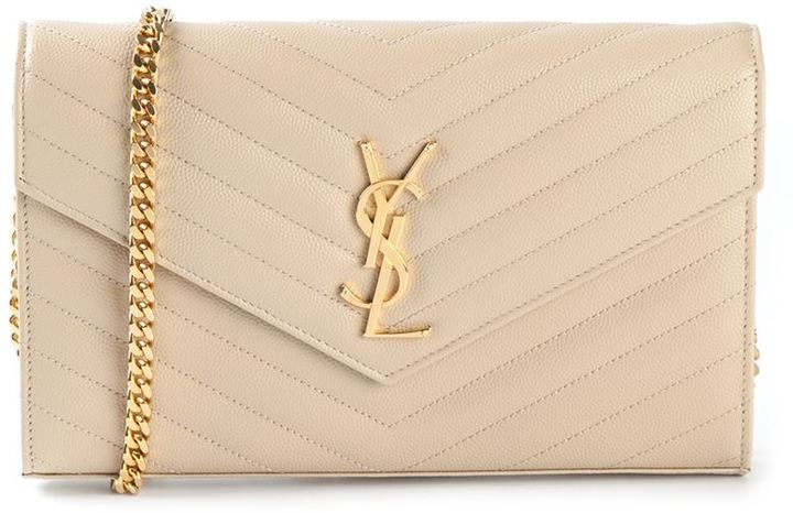 ... Saint Laurent Monogram Shoulder Bag d64acd5e29023