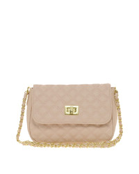 Asos Nude Quilted Cross Body Bag