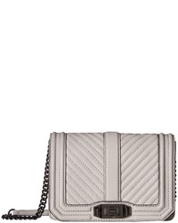 Rebecca Minkoff Chevron Quilted Small Love Crossbody Cross Body Handbags