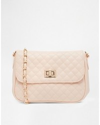 Asos Collection Quilted Lock Cross Body Bag