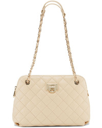 DKNY Quilted Leather Round Crossbody