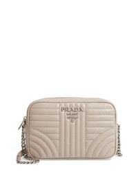 Prada Impunture Quilted Leather Camera Bag