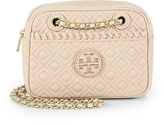 Tory Burch Marion Quilted Crossbody Bag | Where to buy & how to wear : marion quilted crossbody - Adamdwight.com