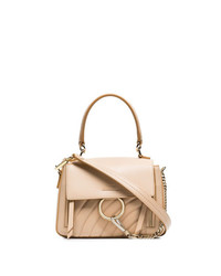 Chloé Pink Faye Day Mini Quilted Leather Shoulder Bag