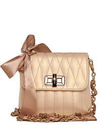 ChicNova Quilted Cross Body Bag With Bow Embellish