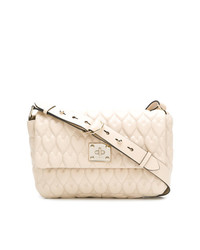 RED Valentino Red Heart Quilted Shoulder Bag