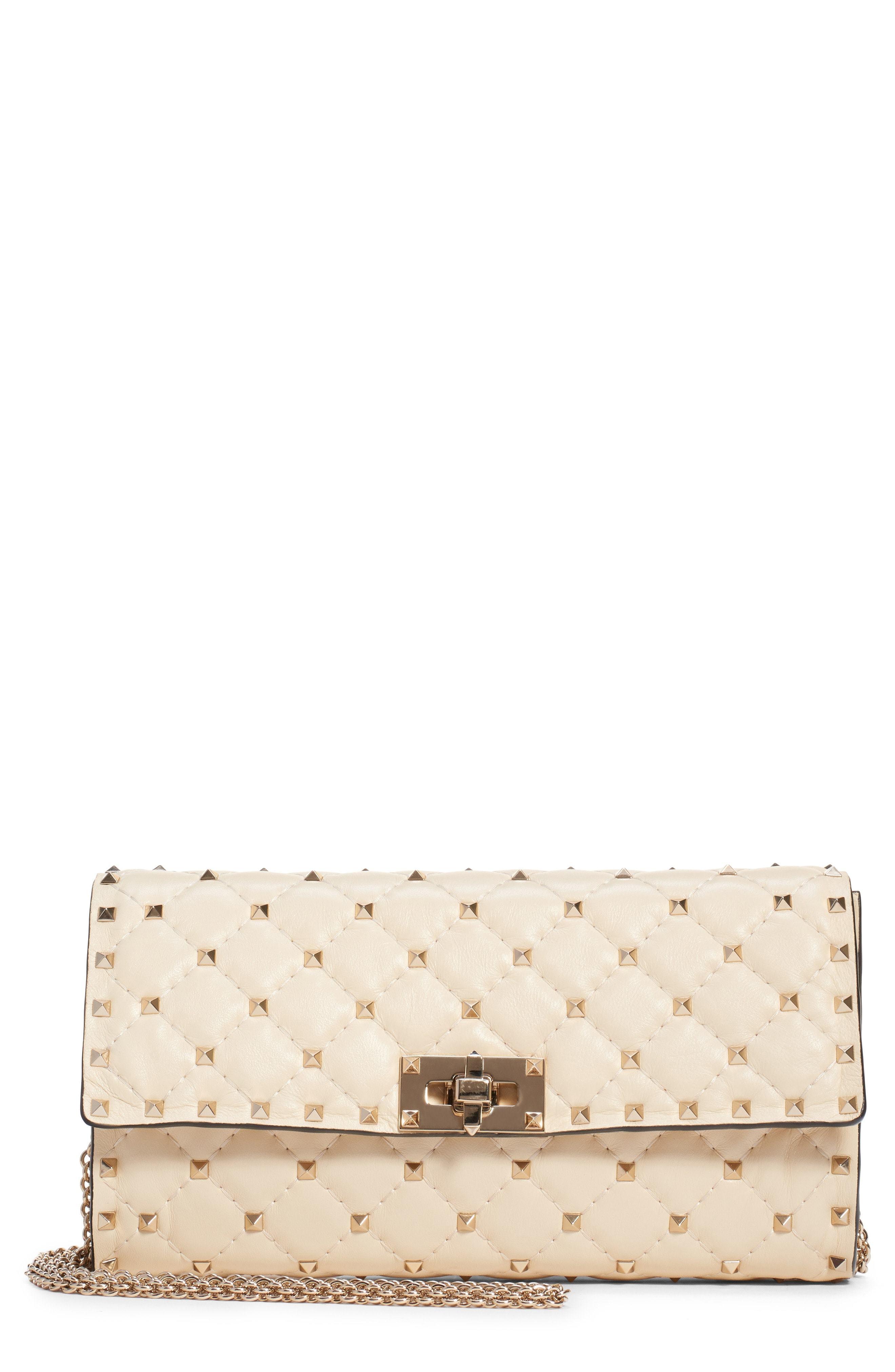 ea23b8798f Valentino Garavani Rockstud Matelasse Quilted Leather Shoulder Bag ...