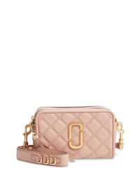 THE MARC JACOBS The Softshot 21 Quilted Leather Crossbody Bag