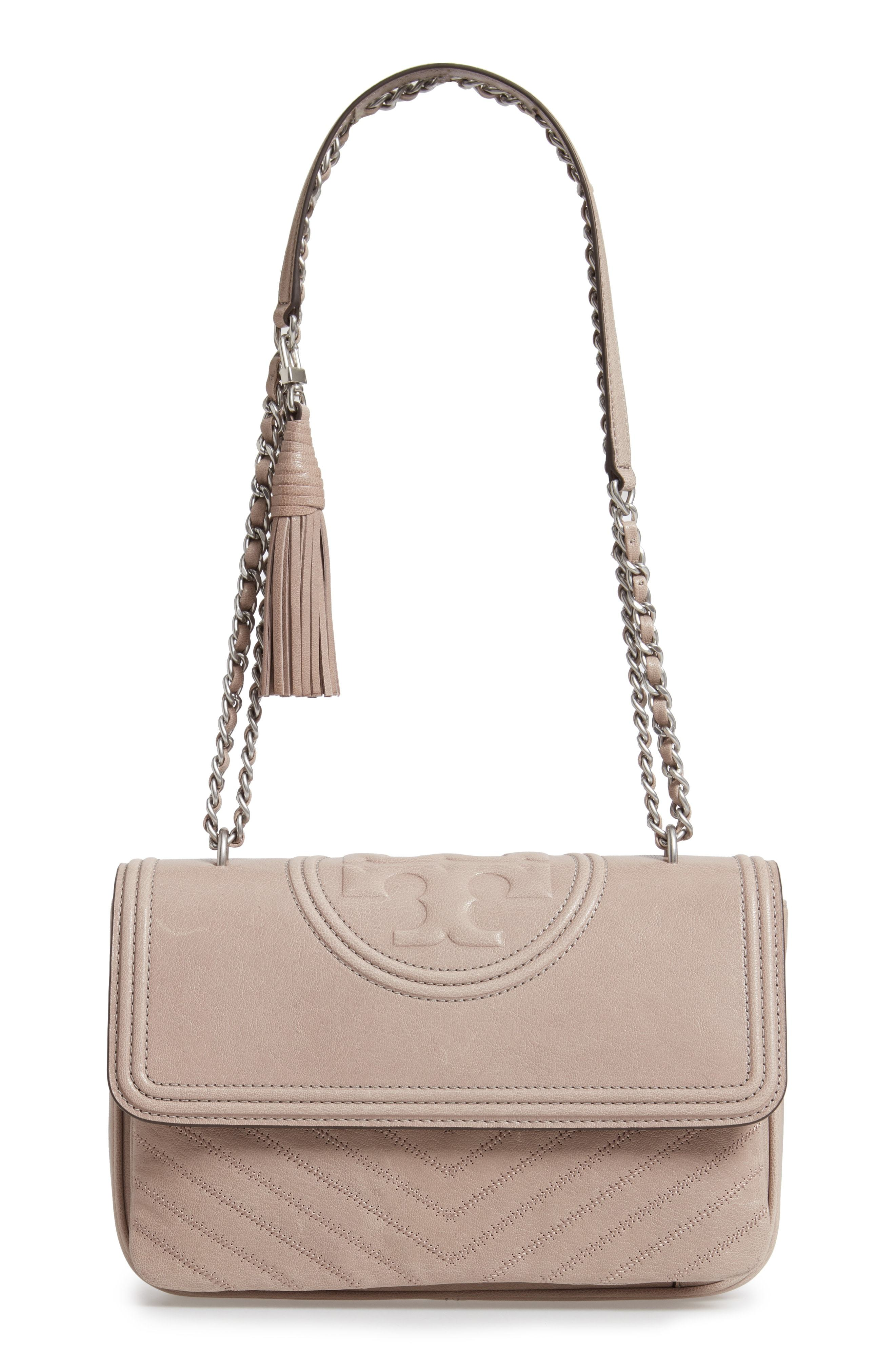 purchase genuine provide plenty of latest style Fleming Leather Convertible Shoulder Bag