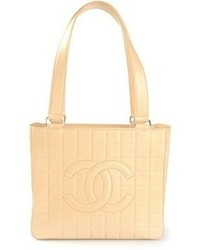 Chanel Vintage Quilted Shopper Tote