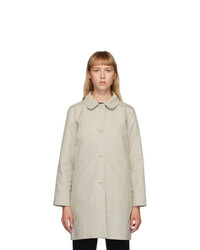A.P.C. Beige Dolly Coat