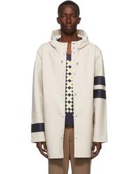 Stutterheim Stockholm Sleeve Stripe Coat
