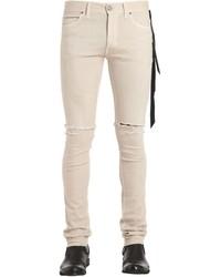 16cm Skinny Vanilla Beige Denim Jeans
