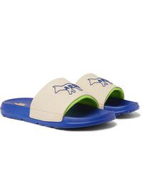 Beige Rubber Sandals