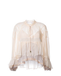 Chloé Colour Block Tiered Top