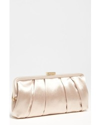 Logan satin clutch black medium 619027
