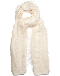 Chloé Chlo Fil Coup Wool And Silk Blend Scarf