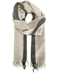 Golden Goose Deluxe Brand Two Tone Scarf