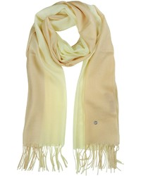 Gradient beigecream wool and cashmere stole medium 168045