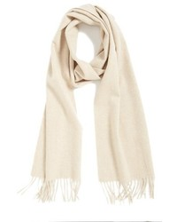Solid woven cashmere scarf medium 394539