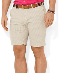 Polo Ralph Lauren Classic Fit Hudson Seersucker Shorts