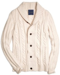 Brooks brothers cashmere large cable cardigan medium 145472