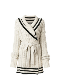 Maison Margiela Cable Knit Cardigan