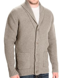 Barbour Crossgate Shetland Wool Cardigan Sweater