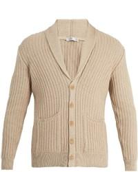 Inis Mein Shawl Lapel Organic Cotton Cardigan