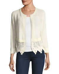 Island party lace trim cardigan medium 4415848