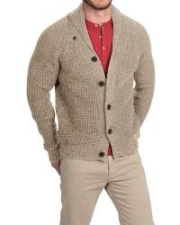Jg Glover Co Peregrine By Jg Glover Shawl Collar Cardigan Sweater Merino Wool