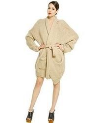 Mes Demoiselles Oversize Lurex And Wool Cardigan
