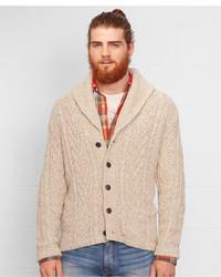 Denim & Supply Ralph Lauren Shawl Collar Cable Cardigan