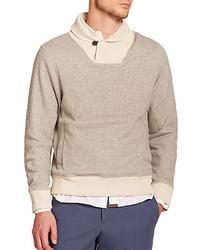 Billy Reid Garret Shawl Collar Sweater