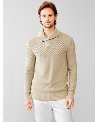 Gap Linen Cotton Shawl Pullover