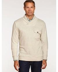 Pendleton Shawl Collar Board Pullover