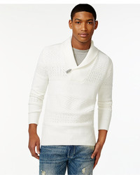 Sean John Shawl Collar Sweater