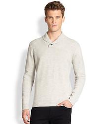 J. Lindeberg Shawl Collar Wool Sweater