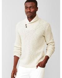 Gap Textured Shawl Sweater