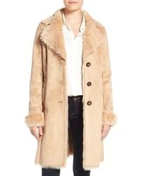 Badgley mischka faux shearling lined coat medium 1248937